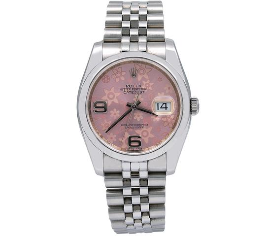Preload https://img-static.tradesy.com/item/25329956/rolex-pink-datejust-116200-36mm-floral-dial-with-stainless-steel-watch-0-0-540-540.jpg