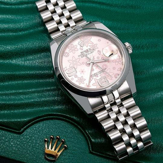 Rolex Rolex Datejust 116200 36MM Pink Floral Dial With Stainless Steel Image 1