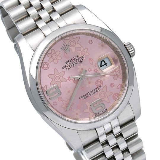 Rolex Rolex Datejust 116200 36MM Pink Floral Dial With Stainless Steel Image 2
