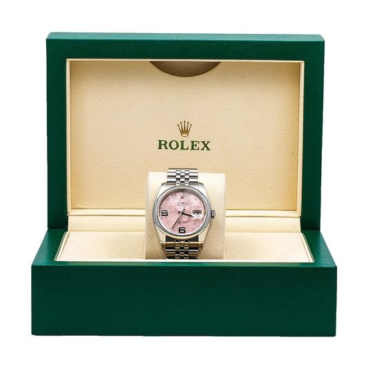 Rolex Rolex Datejust 116200 36MM Pink Floral Dial With Stainless Steel Image 5