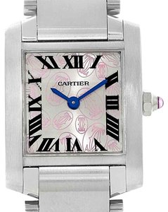 Cartier Cartier Tank Francaise Silver Pink Dial Limited Edition Watch W51031Q3
