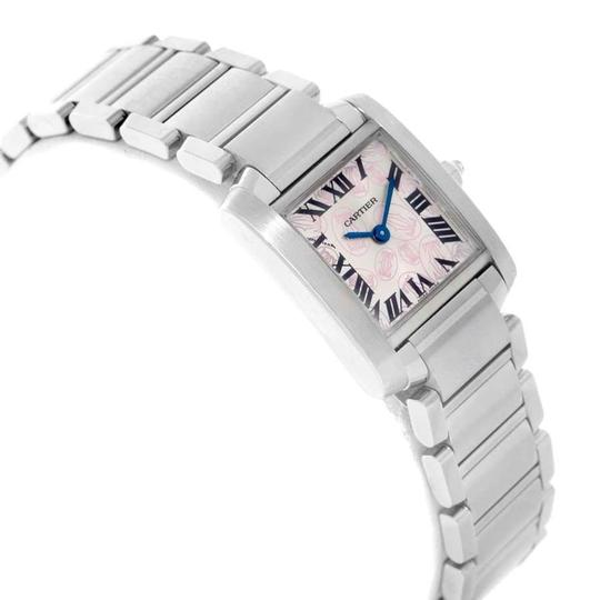 Cartier Cartier Tank Francaise Silver Pink Dial Limited Edition Watch W51031Q3 Image 2