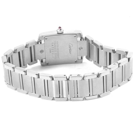 Cartier Cartier Tank Francaise Silver Pink Dial Limited Edition Watch W51031Q3 Image 7