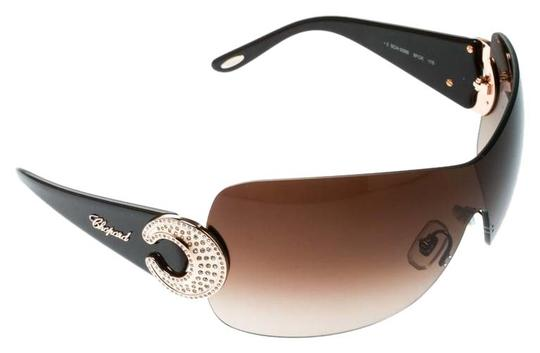 Preload https://img-static.tradesy.com/item/25329965/chopard-brown-brownbrown-gradient-sch-939s-crystal-embellished-shield-sunglasses-0-1-540-540.jpg