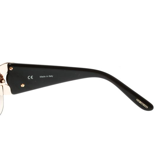 Chopard Brown/Brown Gradient SCH 939S Crystal Embellished Shield Sunglasses Image 3