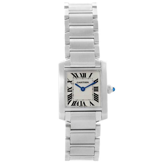 Cartier Cartier Tank Francaise Stainless Steel Ladies Watch W51008Q3 Image 1