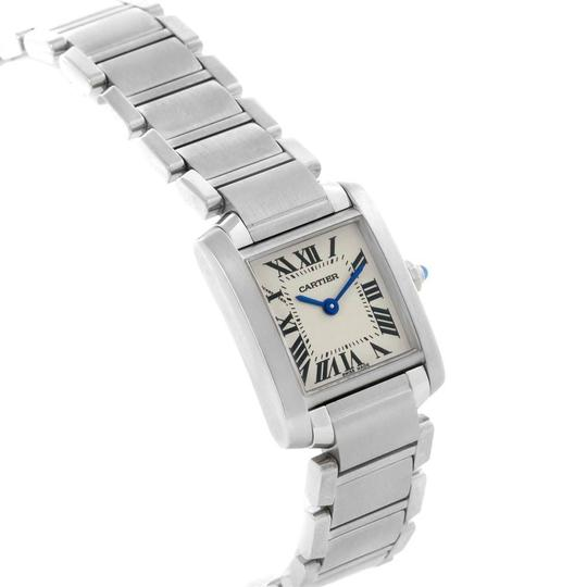 Cartier Cartier Tank Francaise Stainless Steel Ladies Watch W51008Q3 Image 2