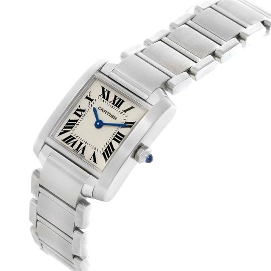 Cartier Cartier Tank Francaise Stainless Steel Ladies Watch W51008Q3 Image 3