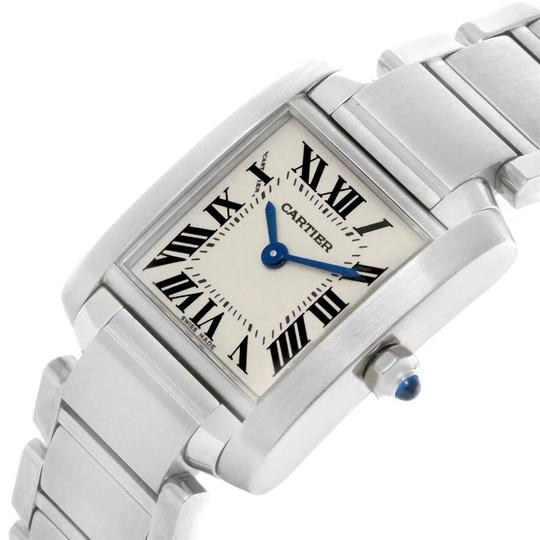 Cartier Cartier Tank Francaise Stainless Steel Ladies Watch W51008Q3 Image 4