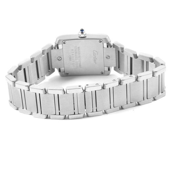 Cartier Cartier Tank Francaise Stainless Steel Ladies Watch W51008Q3 Image 7