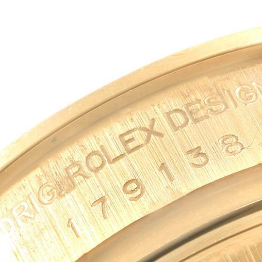 Rolex Rolex President 26mm Yellow Gold Diamond Ladies Watch 179138 Box Paper Image 5