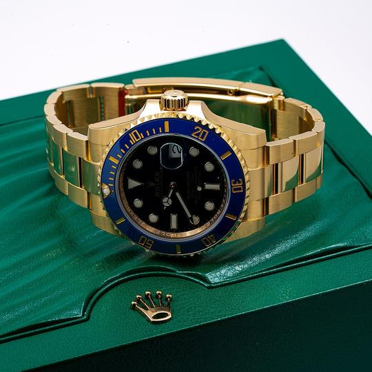 Rolex Rolex Submariner Date 116618LB 40MM Blue Dial With Yellow Gold Image 2