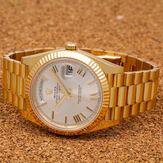 Rolex Rolex Day-Date 228238 40MM Silver Dial With Yellow Gold President Image 1