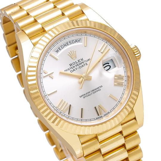 Rolex Rolex Day-Date 228238 40MM Silver Dial With Yellow Gold President Image 2