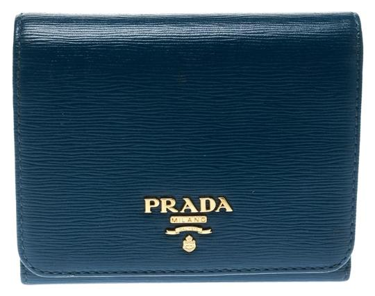 Preload https://img-static.tradesy.com/item/25330114/prada-blue-leather-trifold-wallet-0-1-540-540.jpg