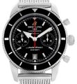 Breitling Breitling SuperOcean Heritage 44 Chrono Black Dial Watch A23370 Image 0