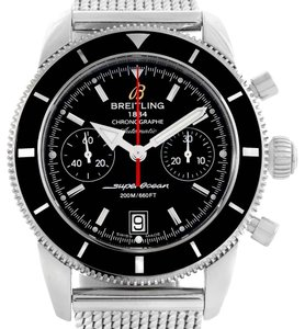 Breitling Breitling SuperOcean Heritage 44 Chrono Black Dial Watch A23370