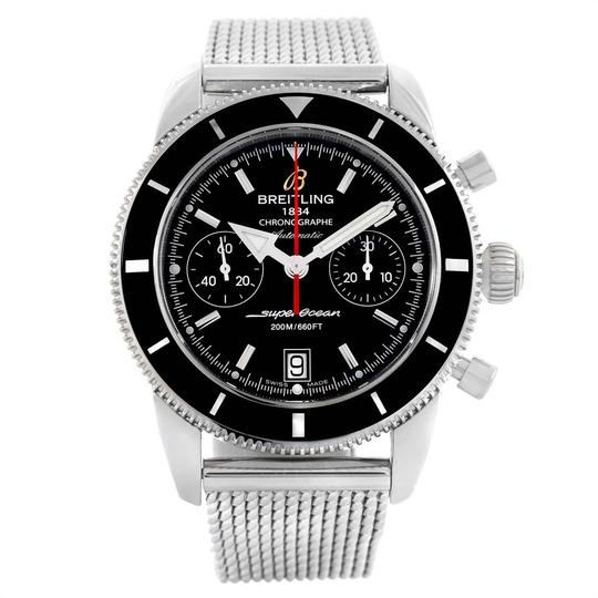 Breitling Breitling SuperOcean Heritage 44 Chrono Black Dial Watch A23370 Image 1