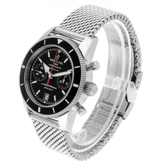 Breitling Breitling SuperOcean Heritage 44 Chrono Black Dial Watch A23370 Image 3