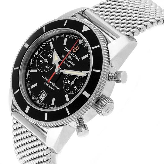 Breitling Breitling SuperOcean Heritage 44 Chrono Black Dial Watch A23370 Image 4