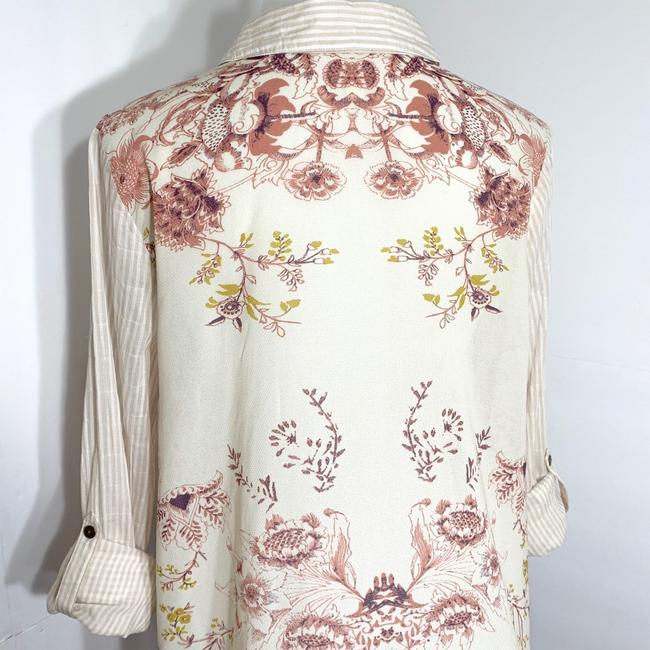 Free People Top Cream Pink Image 3
