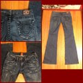 True Religion Boot Cut Jeans-Distressed Image 3