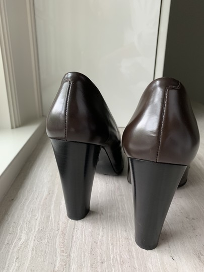 Tod's chocolate Brown Pumps Image 3