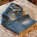 Miss Me Capris distressed denim Image 3