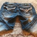Miss Me Capris distressed denim Image 4