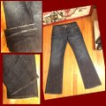 7 For All Mankind Boot Cut Jeans-Medium Wash Image 3