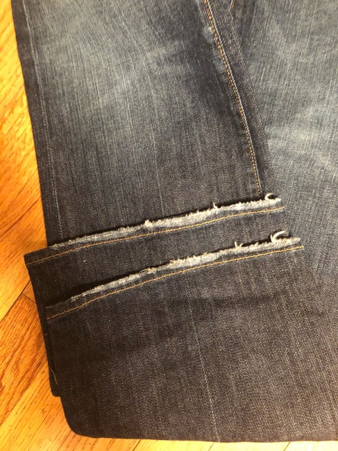 7 For All Mankind Boot Cut Jeans-Medium Wash Image 5