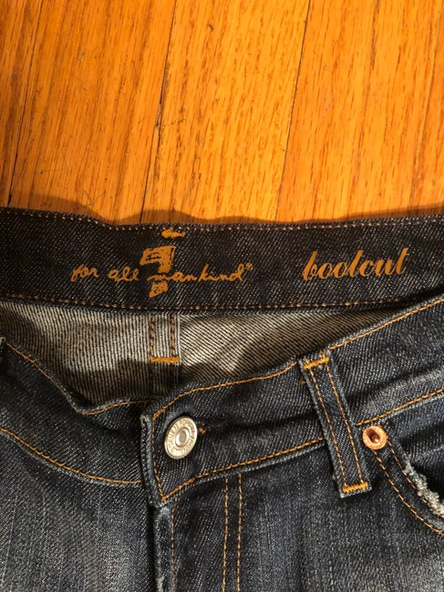 7 For All Mankind Boot Cut Jeans-Medium Wash Image 7