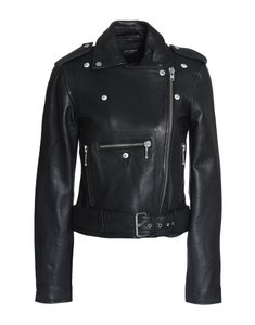 Muubaa Designer Lambskin Leather Jacket