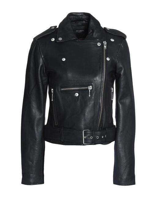 Muubaa Designer Lambskin Leather Jacket Image 0