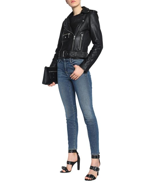 Muubaa Designer Lambskin Leather Jacket Image 2