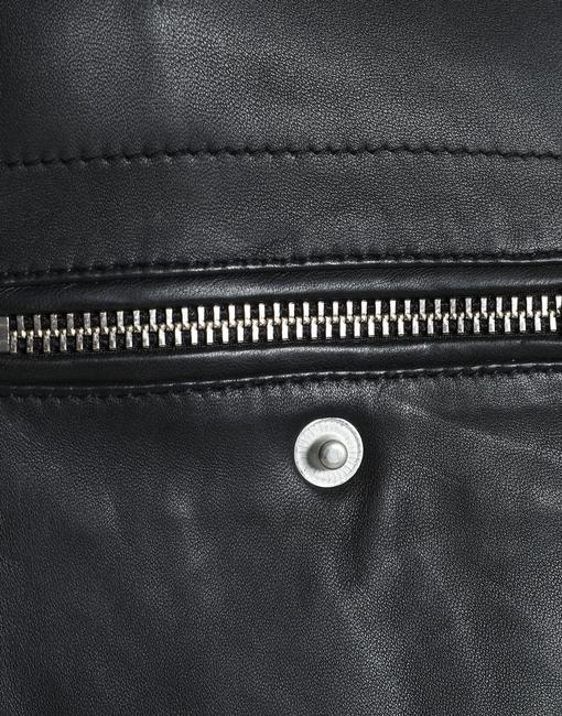 Muubaa Designer Lambskin Leather Jacket Image 3