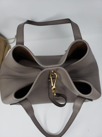 Burberry Tote in Gray Image 6