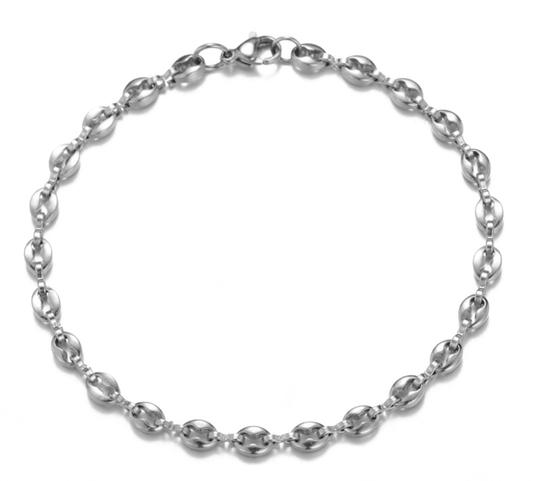 Other GUCCI STYLE LINK 5MM/8 INCH UNISEX BRACELET Image 5