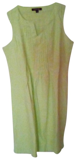 Item - Lime Green Lovely Summer Short Casual Dress Size 10 (M)