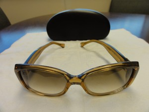 f424f26ec3 Louis Vuitton Brown gold-tone Louis Vuitton Soupçon monogram sunglasses