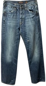 Ed Hardy Boot Cut Jeans-Distressed