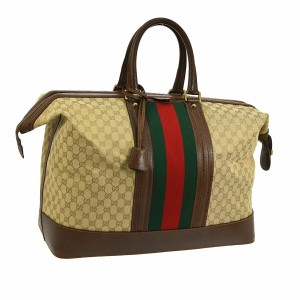 e3231b4c636c Get Beige Canvas Gucci Weekend & Travel Bags for 70% Off or Less at ...