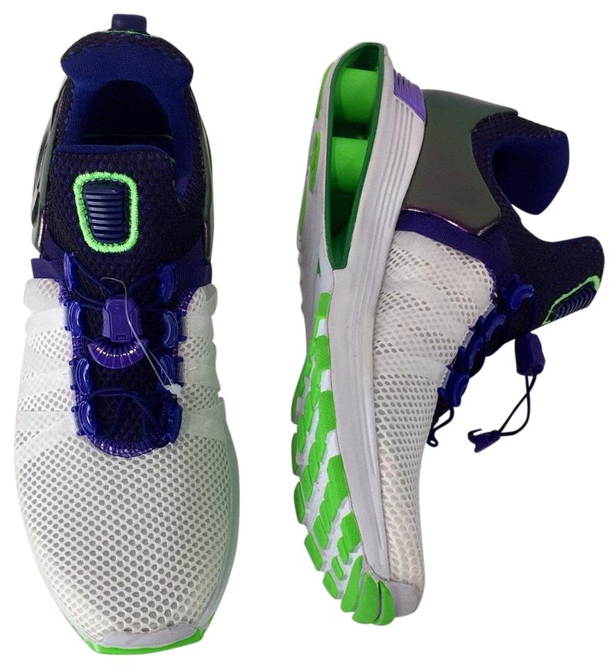 sale retailer 0199e a2673 Nike Violet White Women's Shox Gravity Running Sneakers Size US 7.5 Regular  (M, B) 42% off retail