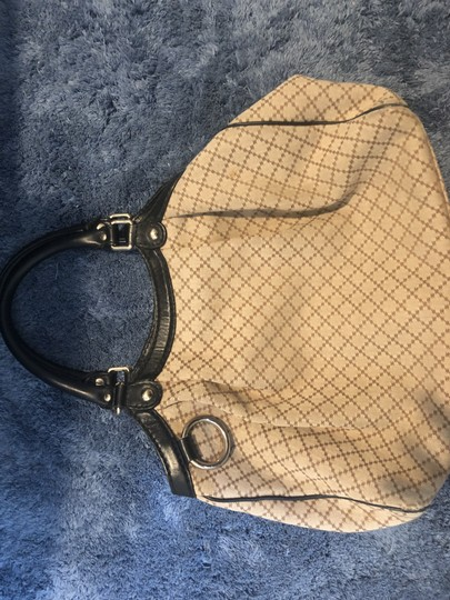 Gucci Tote in Light Biege, black Image 7