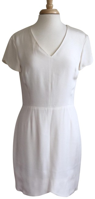 Item - White Teagan Cap Sleeve Short Night Out Dress Size 10 (M)