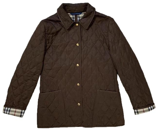 Burberry Brown Diamond Quilted Barn Jacket Size 8 (M ...