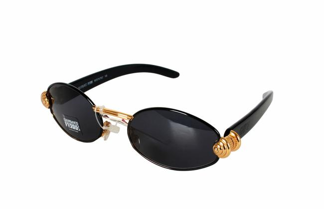 Item - Black Vintage New Old Stock with Tag Ultra-rare Sunglasses