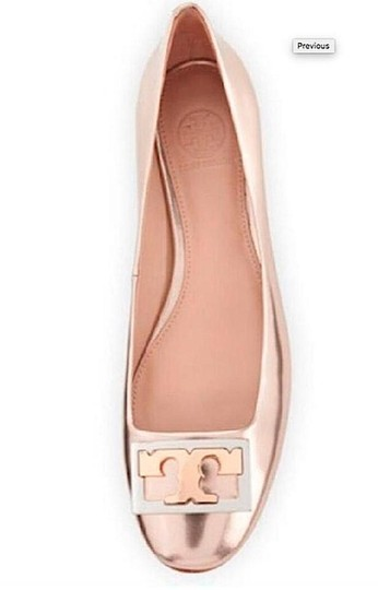 Tory Burch gold with tag Pumps Image 1