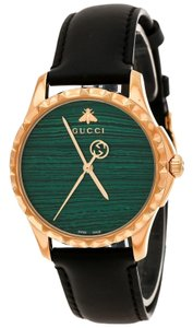 413efd0cb86 Gucci Green Gold Plated Stainless Steel Le Marché Des Merveilles 126.4 Women