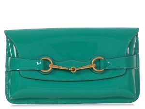 Gucci Gc.q0311.01 Green Brass Bright Bit Reduced Price Blue Clutch